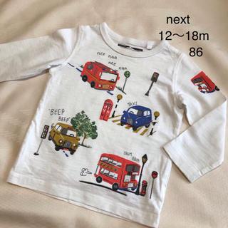 ネクスト(NEXT)のnext 長袖Tシャツ 86(シャツ/カットソー)