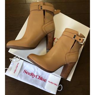 クロエ(Chloe)の値下げしましたseebychloe靴 ブーツ 371/2(ブーツ)