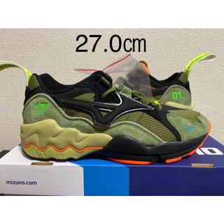トゥエンティーフォーカラッツ(24karats)のMIZUNO×Mita Sneakers×24karats WAVE RIDER(スニーカー)