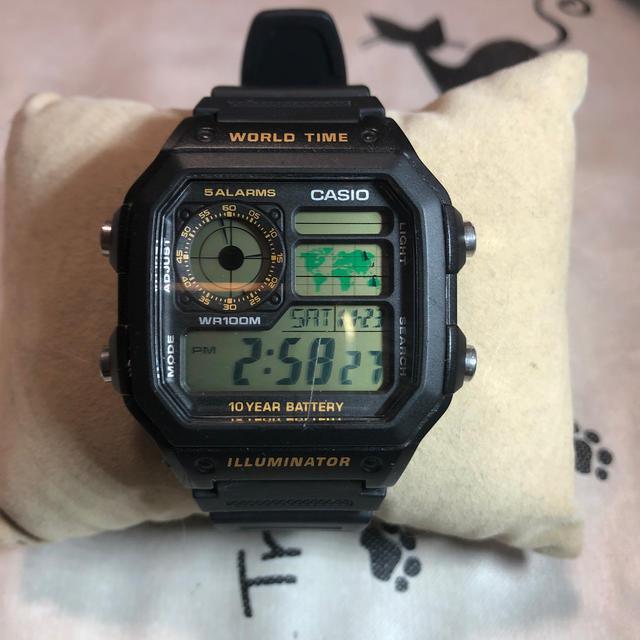 CASIO - カシオ ワールドタイム腕時計の通販