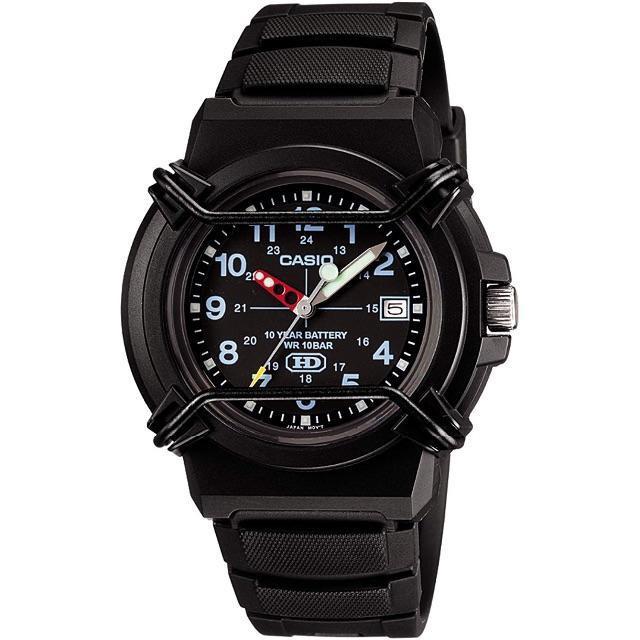 カシオ] 腕時計 スタンダード HDA-600B-1BJF ブラック ¥2,69の通販