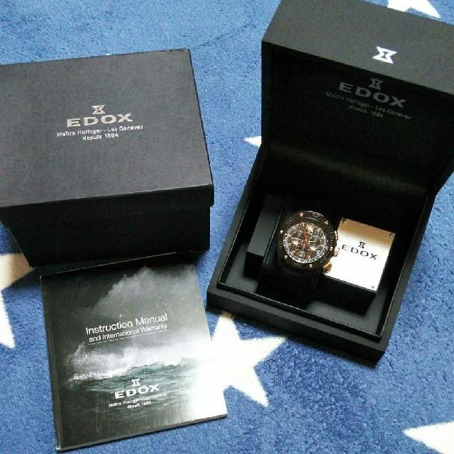 EDOX - EDOX 腕時計 電池式 【レア】の通販