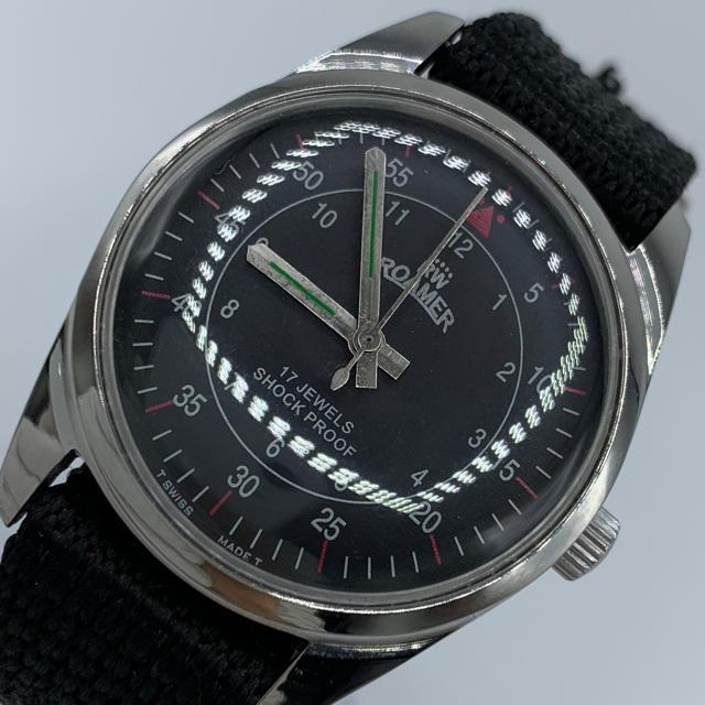 ORIS - 激レア美品◆ROAMER/1970's/ヴィンテージ腕時計/手巻きウォッチの通販