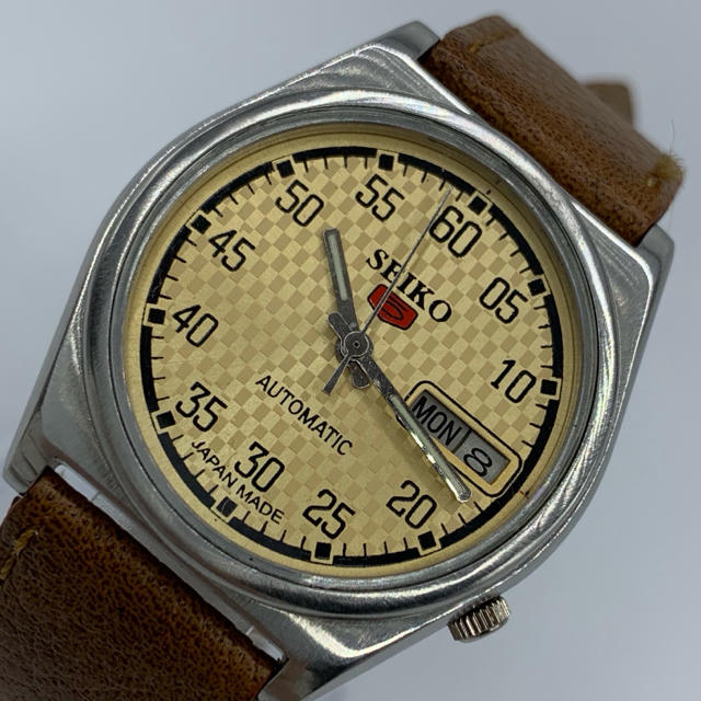 SEIKO - 激レア美品◆SEIKO/セイコー 5/ビンテージ腕時計/自動巻きウォッチの通販
