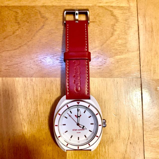 adidas - adidas originals スタンスミス レッド 腕時計の通販