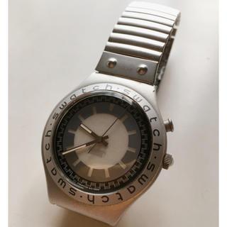 スウォッチ(swatch)のスウォッチ irony 防水腕時計 シルバー(腕時計(デジタル))