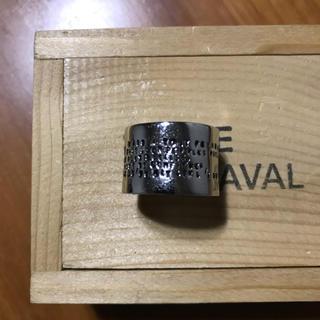 アッシュペーフランス(H.P.FRANCE)のSERGE THORAVAL シルバーリング 接吻(リング(指輪))