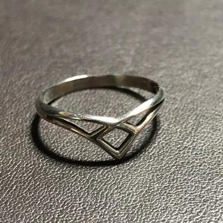 シルバー リング   sv925  サイズ10(リング(指輪))
