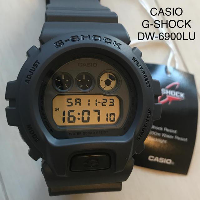 【新品未使用品】CASIO G-SHOCK DW-6900 LUの通販