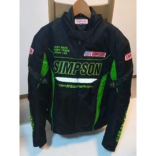 シンプソンライダースジャケットM(値下げしました)(ライダースジャケット)