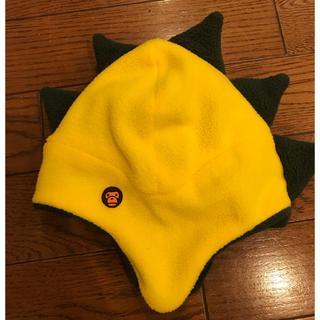 アベイシングエイプ(A BATHING APE)の本物 新品同様 ベイシング エイプ ベビー 帽子a bathing apeニット(帽子)