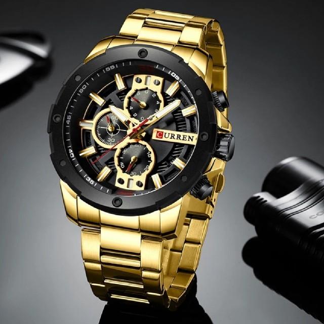 [海外限定残り一つ❗]CURREN高級クロノグラフメンズ腕時計の通販