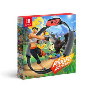 ニンテンドースイッチ(Nintendo Switch)の新品 任天堂 リングフィットアドベンチャー(家庭用ゲームソフト)