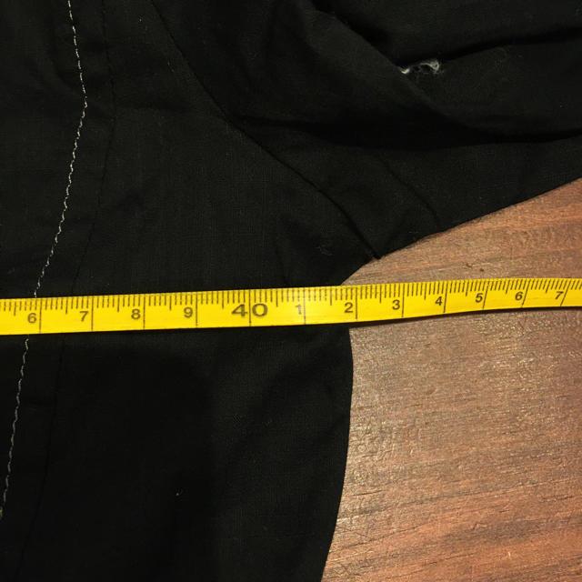 無地 綿シャツ ブラック #Cattleya レディースのトップス(シャツ/ブラウス(長袖/七分))の商品写真