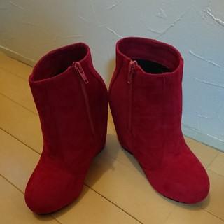 グレイル(GRL)の赤  ブーツ(ブーツ)