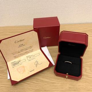 カルティエ(Cartier)のカルティエ エタンセル ドゥ フルエタニティリング ピンクゴールド K18PG(リング(指輪))
