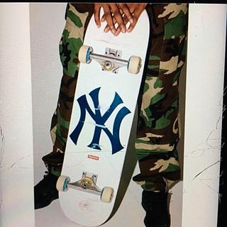 シュプリーム(Supreme)の新品 SUPREME Skateboard Ny yankees シュープリーム(スケートボード)