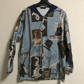 ミルクボーイ(MILKBOY)のMILKBOY セーラーシャツ ブルー(シャツ)