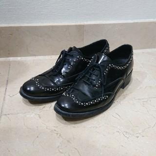 プラステ(PLST)のBOEMOSレザーシューズ(ローファー/革靴)