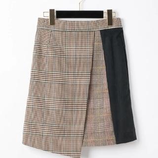 グレースコンチネンタル(GRACE CONTINENTAL)のダイアグラム スカート タグ付き 大幅値下げしました(ミニスカート)