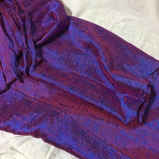 ロキエ(Lochie)の vintage 巻きパンツ purple(カジュアルパンツ)