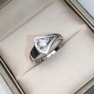 ブルガリ(BVLGARI)の美品!ブルガリBvlgari レディース リング 指輪 超美品 本物(リング(指輪))