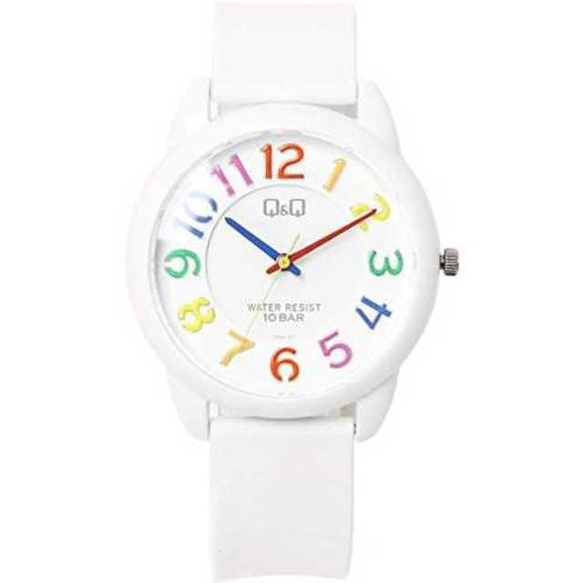 マルチカラー[シチズン Q&Q]腕時計 10気圧防水 ウレタンバンド カジュアルの通販