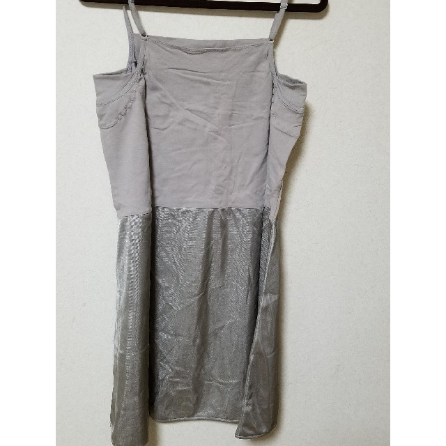 ニッセン(ニッセン)のペチコート グレーLサイズ レディースの下着/アンダーウェア(その他)の商品写真