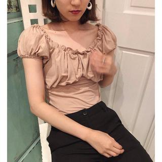 ロキエ(Lochie)のpapermoon frill ballet tops(Tシャツ(半袖/袖なし))