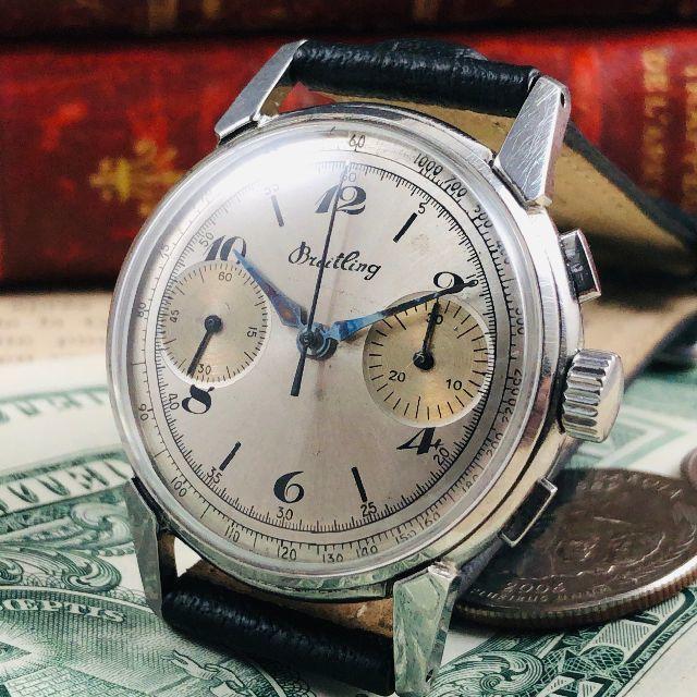 セイコー コピー 特価 - BREITLING - ★高級スイス腕時計★ブライトリング/手巻き/クロノグラフ/Venus 188の通販