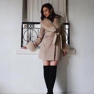 リエンダ(rienda)のrienda❤Faux Fur Wool MIX CT(毛皮/ファーコート)