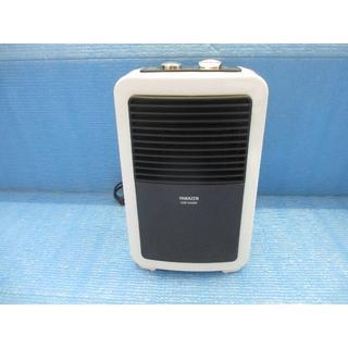 山善 ミニセラミックヒーター ブラウン DMF-SA064(T)(電気ヒーター)