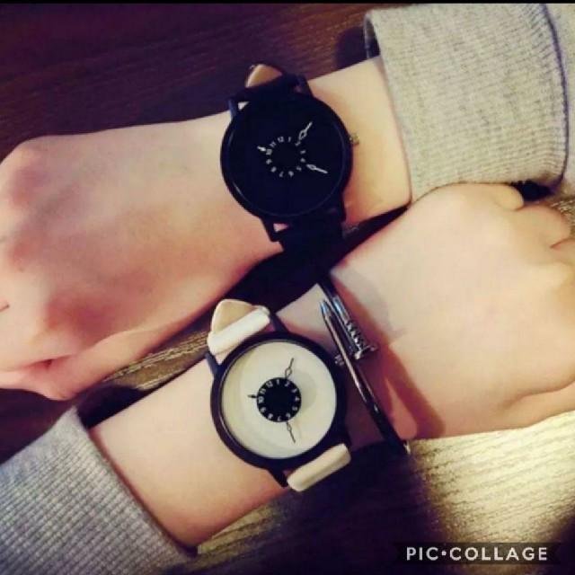 大人気【新品】モノトーン腕時計の通販