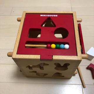 ミキハウス(mikihouse)のミキハウスの木製パズル(積み木/ブロック)