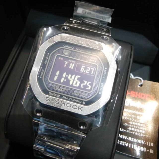 G-SHOCK - GMW-B5000V-1JR  激レア!生産終了モデル!の通販