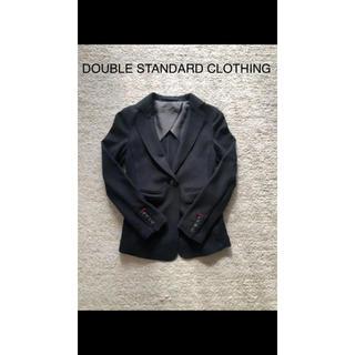 ダブルスタンダードクロージング(DOUBLE STANDARD CLOTHING)のジャケット ブラック 発表会 フォーマル 冠婚葬祭 オフィス(ドレス/フォーマル)