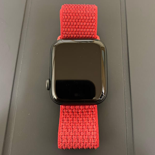 Apple Watch - Applewatch 純正スポーツループ productred 44ミリの通販