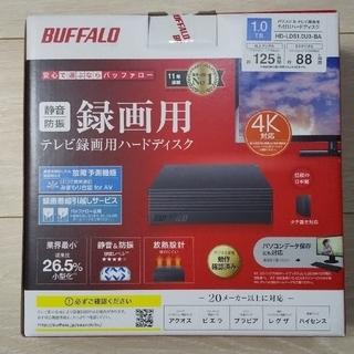 Buffalo - 未開封 バッファロー 外付けハードディスク HD-LDS1.0U3-BA