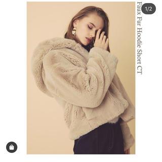 リエンダ(rienda)のrienda 新作 faux fur foodie coat(毛皮/ファーコート)