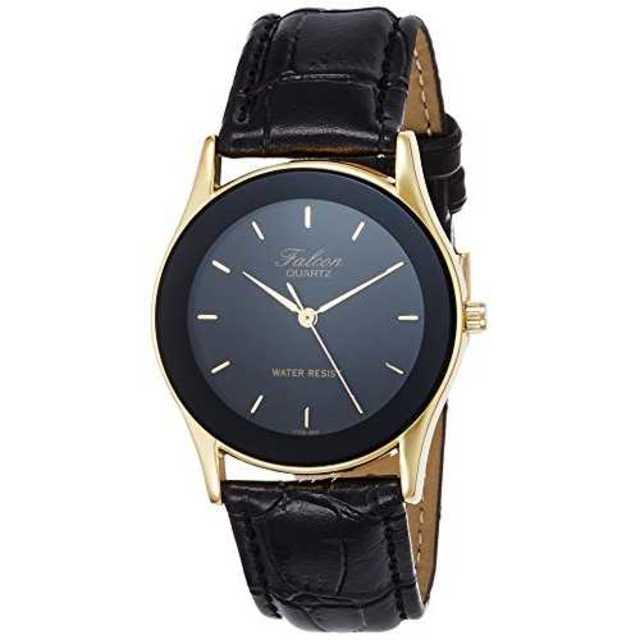 [シチズン Q&Q] 腕時計 Falcon ファルコン V708-850 ブラッの通販