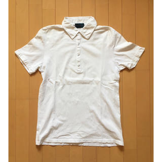 RAGEBLUE - レイジブルー  ポロシャツ 白ホワイト Lサイズ