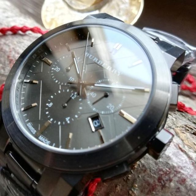 BURBERRY - 【新品!箱付】BURBERRYプレゼントに最適メンズ腕時計BU9354の通販