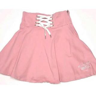 ピンクラテ(PINK-latte)のスカート(ひざ丈スカート)