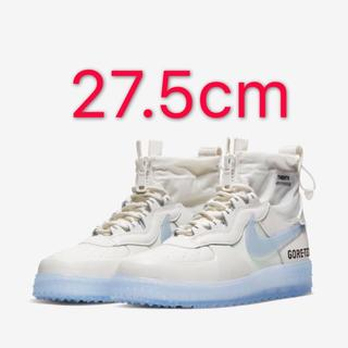 ナイキ(NIKE)のNIKE AIR FORCE 1 GORETEX PHANTOM WHITE(スニーカー)