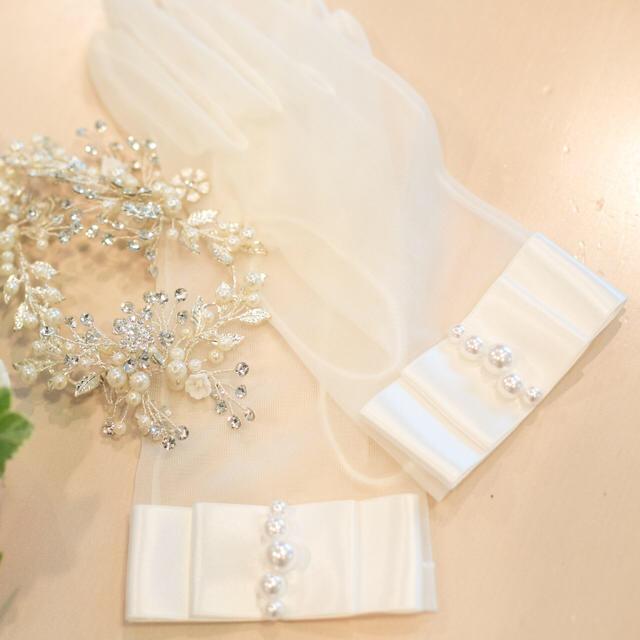 TAKAMI(タカミ)のブライダル グローブ タカミ レディースのファッション小物(手袋)の商品写真