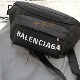 Balenciaga - バレンシアガ ショルダーバッグ ロゴ ブラック