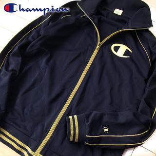 チャンピオン(Champion)の美品 XL チャンピオン レディース ジャージ/ジャケット ネイビー(その他)