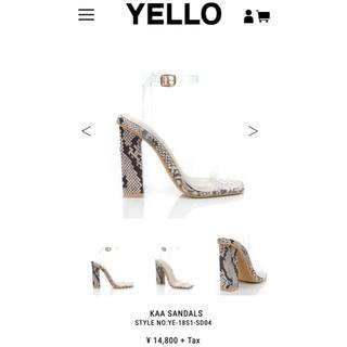 イエローブーツ(Yellow boots)のYELLO サンダル S(サンダル)
