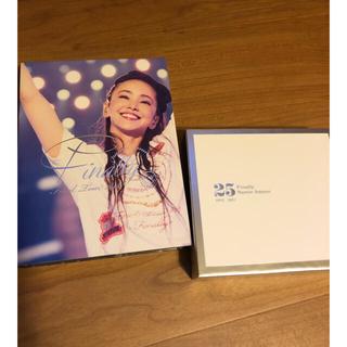 安室奈美恵 アルバム&DVD ステッカー付(ミュージック)