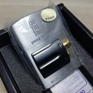 バンプレスト(BANPRESTO)のZippo ルパン三世次元リボルバーメタル 新品未使用品(タバコグッズ)